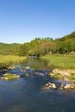 L'Allemagne, la Bavière, le Burg Neideck et la rivière images libres de droits