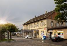 L'ALLEMAGNE - 30 mai 2012 : Vieille maison dans la ville en Bavière, Allemagne Photo libre de droits