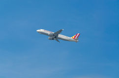L'Allemand s'envole Airbus A320 Photo stock