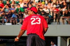 L'allenatore di pallacanestro capo Ed Cooley degli uomini del PC Immagine Stock