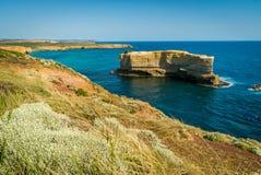 L'allerta del relitto nei dodici apostoli in Australia di estate Fotografia Stock
