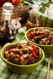 L'aloyau collant chinois de porc a rôti avec un sauc doux et savoureux Image stock