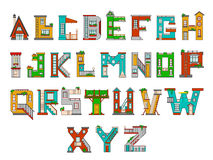L'alphabet des enfants d'illustration Photos libres de droits