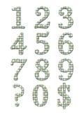 L'alphabet marque avec des lettres 3D Photographie stock libre de droits
