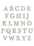 L'alphabet marque avec des lettres 3D Photo stock