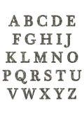 L'alphabet marque avec des lettres 3D Image libre de droits