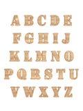 L'alphabet marque avec des lettres 3D Image stock