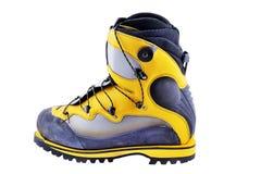L'alpinismo calza gli stivali Fotografie Stock Libere da Diritti