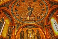 L'Alsazia, il monastero di Sainte Odile in Ottrott Fotografie Stock