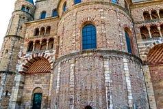 L'alta cattedrale di St Peter in Treviri, Germania Fotografie Stock Libere da Diritti