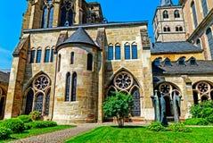 L'alta cattedrale di St Peter in Treviri, Germania Immagine Stock Libera da Diritti