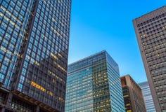 L'alta costruzione di affari di aumento Immagini Stock