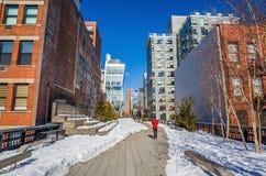 L'alta linea in New York. Fotografia Stock Libera da Diritti