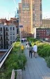 L'alta linea, New York Fotografie Stock