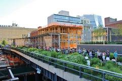 L'alta linea, New York Immagine Stock
