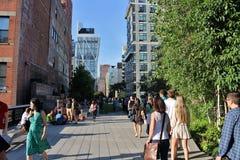 L'alta linea, New York Immagine Stock Libera da Diritti