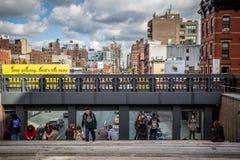 L'alta linea NYC Fotografie Stock Libere da Diritti