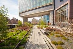 L'alta linea parco lineare popolare costruito sul Immagine Stock Libera da Diritti