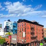 L'alta linea parco osserva Manhattan New York Stati Uniti Immagini Stock Libere da Diritti