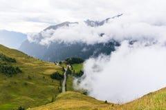 L'alta strada alpina di Grossglockner Immagini Stock Libere da Diritti