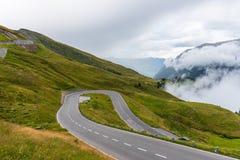 L'alta strada alpina di Grossglockner Fotografie Stock