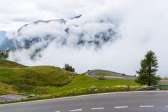 L'alta strada alpina di Grossglockner Fotografie Stock Libere da Diritti