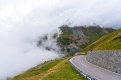 L'alta strada alpina di Grossglockner Fotografia Stock