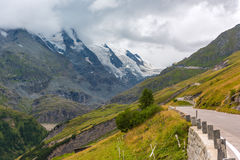 L'alta strada alpina di Grossglockner Immagine Stock Libera da Diritti