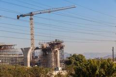 L'alta strada principale struttura la costruzione Immagine Stock Libera da Diritti