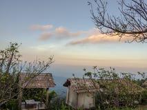 L'alta vista della montagna Immagini Stock Libere da Diritti