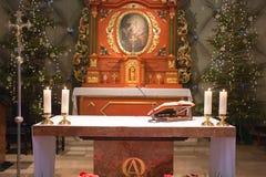 L'altare Immagine Stock