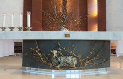L'altare Fotografia Stock Libera da Diritti
