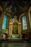 L'altare alla cattedrale di Turku Fotografie Stock