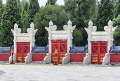 L'altare circolare del monticello al tempio del cielo, Pechino, Cina, Asia Fotografie Stock