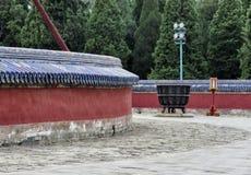 L'altare circolare del monticello al tempio del cielo, Pechino, Cina, Asia Immagine Stock