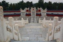 L'altare circolare del monticello Il tempio del cielo Pechino La Cina Fotografie Stock Libere da Diritti