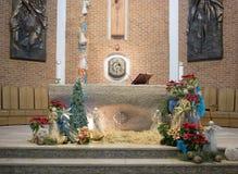 L'altare decorato. Immagine Stock Libera da Diritti
