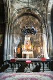 L'altare del monastero di pietra Fotografia Stock