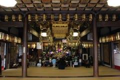 L'altare del ` del tempio della rana del ` in Ogori, Fukuoka Fotografia Stock Libera da Diritti