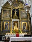 L'altare della chiesa della nostra signora Immagini Stock Libere da Diritti
