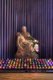 L'altare della scultura del Pieta Fotografie Stock Libere da Diritti
