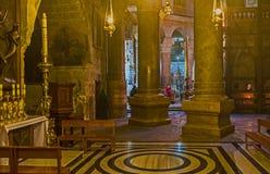 L'altare della st Mary Magdalene Fotografie Stock Libere da Diritti