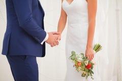 L'altare dello sposo e della sposa Fotografie Stock