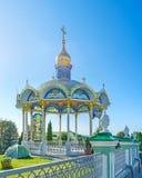 L'altare di estate in Pochaev Lavra Immagine Stock