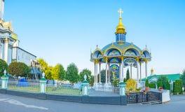 L'altare di estate in Pochayiv Lavra Fotografia Stock Libera da Diritti