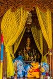 L'altare divertente gioca le offerti Bangkok Tailandia Immagine Stock