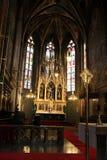 L'altare principale della basilica Immagine Stock