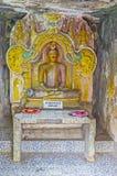 L'altare in tempio antico Fotografie Stock Libere da Diritti