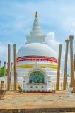 L'altare a Thuparamaya Stupa Fotografia Stock Libera da Diritti