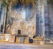 L'altare in vecchio monastero Immagine Stock Libera da Diritti